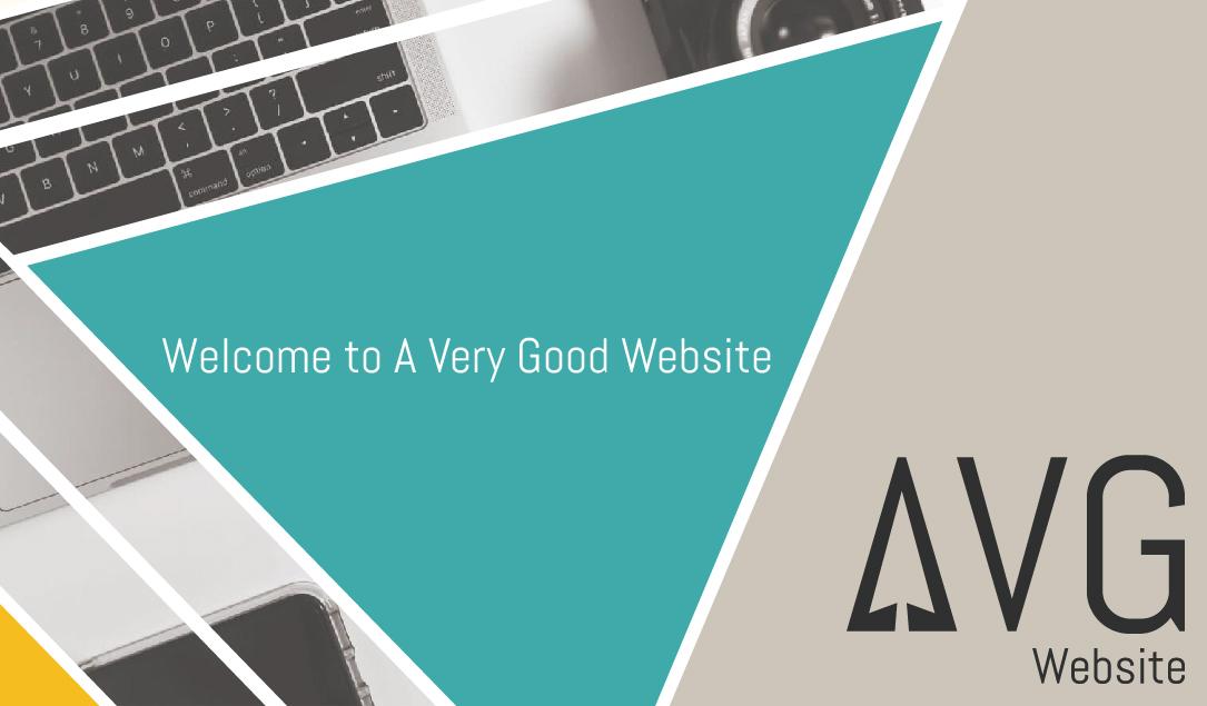 A Very Good Website first blog post